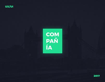 Compania Digital Agency Website