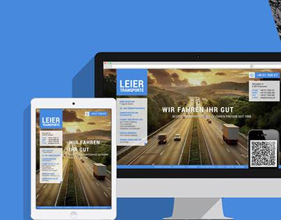17MEDIA Webdesign → leiertrans.de