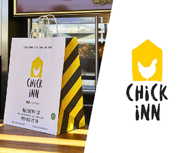 """Chickinn"" food delivery in UAE."