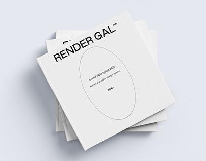 Brand Style Guide Catalog Editorial & Branding Design