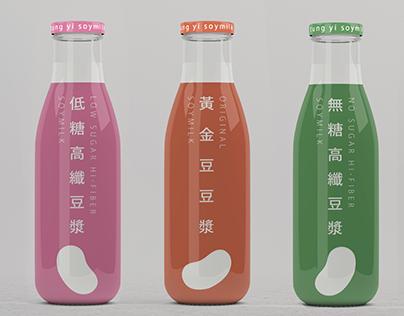 統一豆漿 包裝設計   Tung Yi Soymilk New Package Design