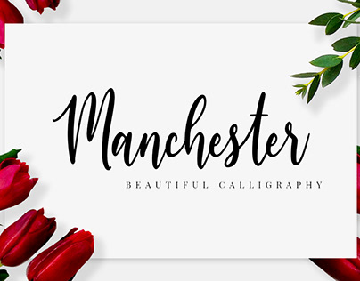 Manchester - Beautiful Font