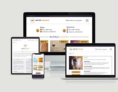 Webdesign Art of Mediums