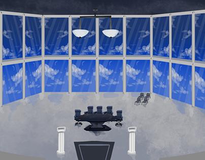 Lawbot Room Concept for Cog Invasion Online