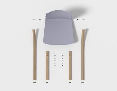UNUA chair & stool