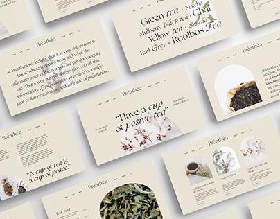 Breathea | Branding, UiUx Design & Social Media