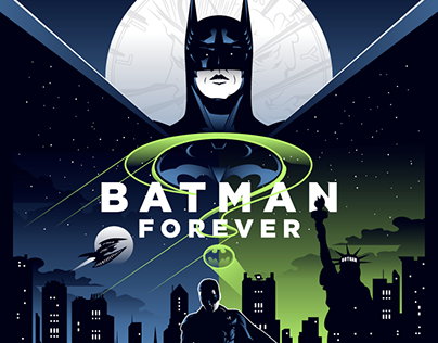 BATMAN FOREVER Poster Art
