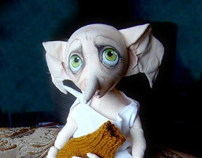 Текстильная игрушка Добби