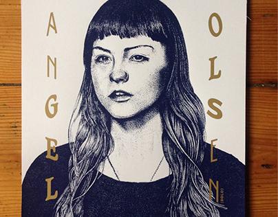 ANGEL OLSEN . Gig Poster