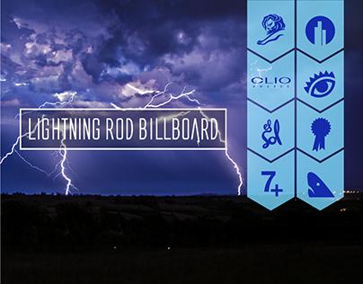 Lightning Rod Billboard / Seguros Bolívar