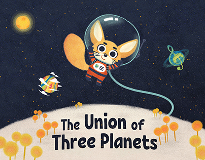 Children's Book: The Union of Three Planets