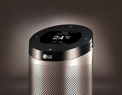 LG ThinQ Hub GUI Design