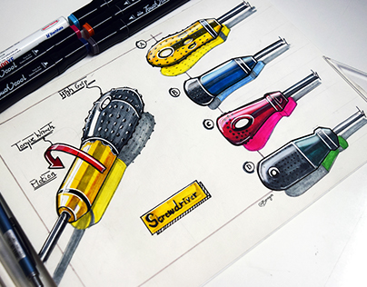 Marker Product Sketching - 2017 ( Vol - 3)