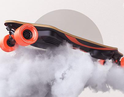 MEEPO V4 - Electric skateboard