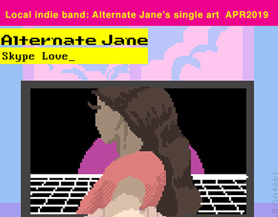 Indie band Alternate Jane single art