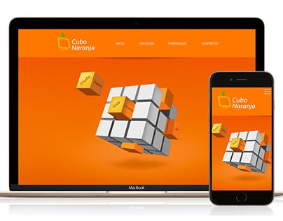 Pagina Web Cubo Naranja