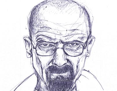 BREAKING BAD - quick sketch series