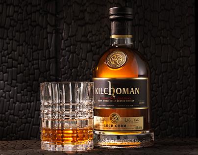 kilchoman whiskey bottle