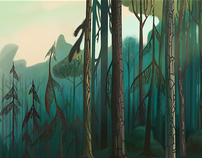 backgrounds,props and color script