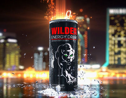 """WILDER"" Energy Drink"
