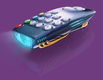 3D TV Remote
