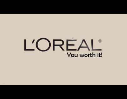 Animation for Loreal Brand.
