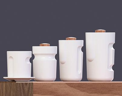 Mucuy - coffee set