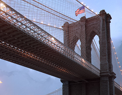 BROOKLYN BRIDGE CGI