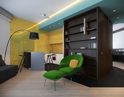 Studio in Saint-Petersburg