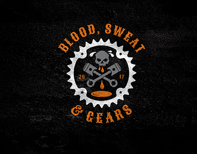Blood Sweat & Gears Logo & T-Shirt