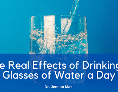 The Real Effects of Drinking 8 Glasses of Water a Day