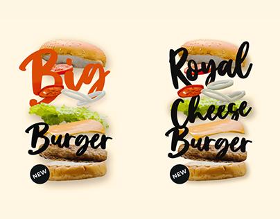 Packaging burgers