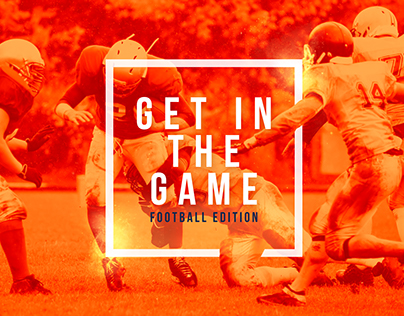 """Get In The Game"" Contest and Client Campaign"