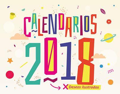 Calendarios ilustrados 2018