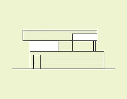 Modern Homes Alphabet