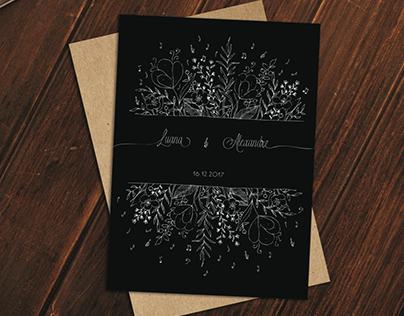 Visual Identity - L&A Wedding