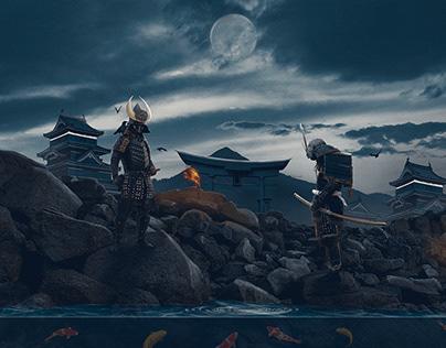 Samurai Warrior - Image Manipulation