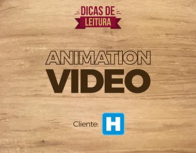 ANIMATION VIDEO - Dicas de Leitura