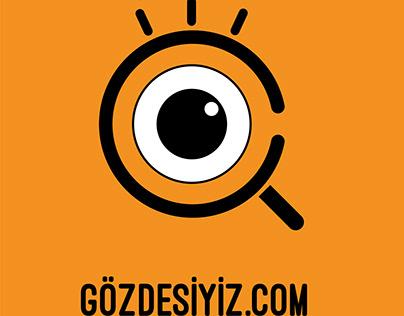 Gözdesiyiz Web Sitesi Logo Tasarımı