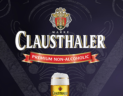 Clausthaler. Non-alcoholic Beer | Magazine ad concepts.