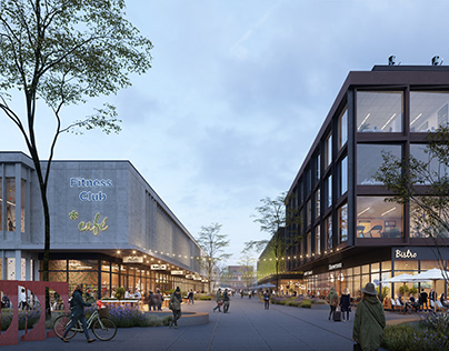 New Urban Quarter in Piaseczno, Poland