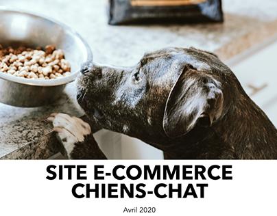 Site e-commerce Chiens-Chats