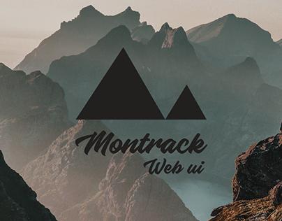 Montrack : Web UI