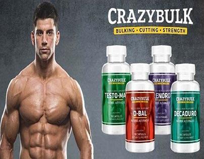 crazy bulk on Behance