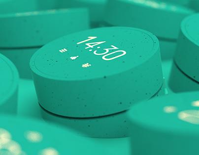 7mind meditation Gadget with Audioplayer, Timer, Clock
