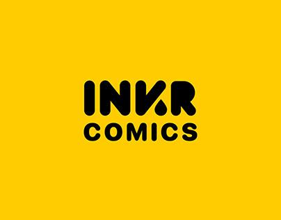 INKR Comics App Launch Screen Animation