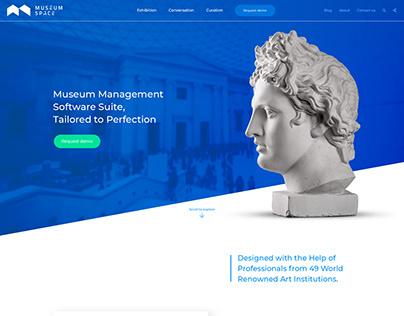 Museum Space Logo & Web