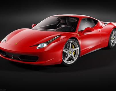 Ferrari 458 Italia videotutorial