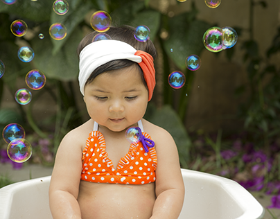 Bubbles and cheeks