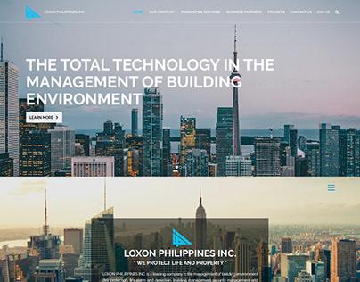Loxon Philippines Inc Web Design Study